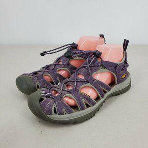 Keen Whisper Walking Hiking Water Sandals Purple Size 10